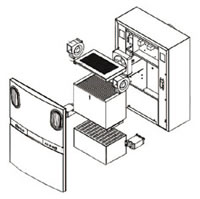 97 Air Ventilation System ADA803 Structure