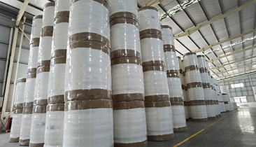 01 Airlaid Paper Food Grade Emulsion Glued Dust Free Paper Warehouse