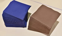 15 Airlaid Paper Food Grade Emulsion Glued Dust Free Paper Application Napkins Face Towels Pads Under Dinning Plate