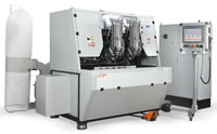 03 A570 CNC Five Axis Brushes Brooms Tufting Machines