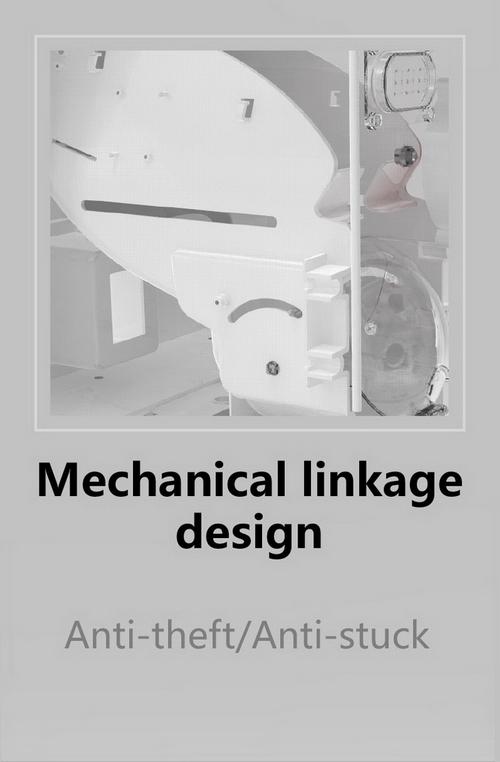 05 Capsule Gashapon Machines, Mechanical Linkage Design, Anti Theft Anti Stuck
