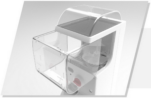 09 Capsule Gashapon Machines Drawer Type Egg Bin Larger and More Flexible Replenishment Easier