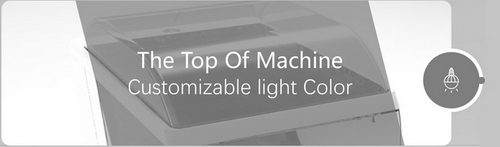 15 Capsule Gashapon Machines Color Interaction Scheme The Top of Machine Customizable Light Color