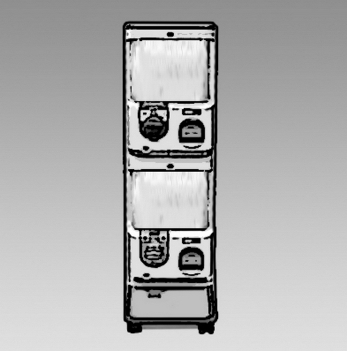 18 Capsule Gashapon Machines Others