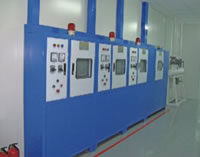 Vacuum Electroplating Coating Project, Main Control Panel