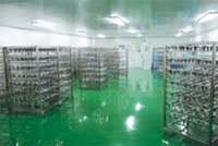 Vacuum Electroplating Coating Project, Product Turnaround Area