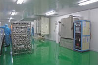 Vacuum Electroplating Coating Project, Vacuum Electroplating Product Workshop