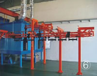 Automatic Spray Coating Production Line, Heavy Hanging Oven