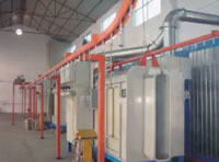 Automatic Spray Coating Production Line, Powder Production Line