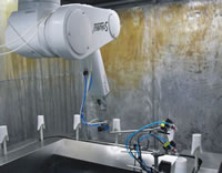 Automatic Spray Coating Production Line, Staubli Painting Robot