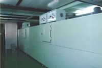 Industrial Ovens, IR Cleanroom Tunnel Oven