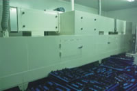 Industrial Ovens, Tunnel Cleaner Oven