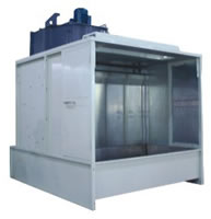 Painting Line Auxiliary Equipments, Accessories, Water Type Spray Booth