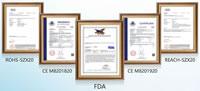04 Test Reports Certificates CE FDA ROHS REACH