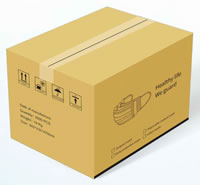 26 Carton for Daily Protective Masks Disposable Medical Masks Surgical Masks 2000PCS