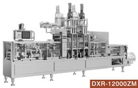 DXR, Full Automatic Plastic Cup Forming Filling Sealing Machinery, DXR-12000ZM