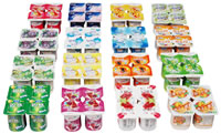 DXR, Yoghurt, Beverage, Cups 4pcs