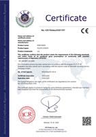 CE Certificate EN 149 2001+A1 2009 KN95 Masks XCL010 XCX010