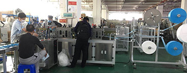 Disposable Masks Making Machine OneOutOne B