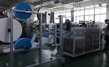 Disposable Masks Making Machine OneOutOne C
