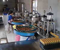 03 Electronic Lighter Production Line in Customer Factory