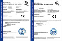 58 CE Certificate of Lighters Production Equipments