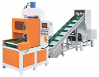 35 Rubber Cutting and Crushing Production Line