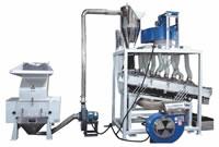 83 Material Sorting Equipment Separate Fibers Impurities Water Pipe Tube Belt Floor Mat Zipper from Plastics