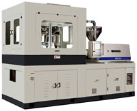 Automatic Plastics Injection Blow Molding Machinery, IBM Machines, WIB40, WIB50, WIB50D, WIB50DT
