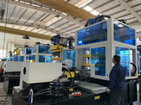 Plastic Injection Stretch Blow Molding Machine, 1 Step Solution, 3 Stations, ISBM, PET, PC, PS, Bottles, Containers, Jars, Cans, Cosmetic, Drinks, Juices, Foods, 1