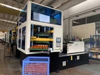 Plastic Injection Stretch Blow Molding Machine, 1 Step Solution, 3 Stations, ISBM, PET, PC, PS, Bottles, Containers, Jars, Cans, Cosmetic, Drinks, Juices, Foods, 2