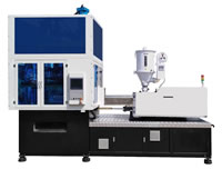 Plastic Injection Stretch Blow Molding Machine, One Step Solution, ISBM ISBxxxxAN, 3 Stations