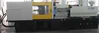 Bicolors Injection Machine, SZ3000DS, For Making Fliptop Caps