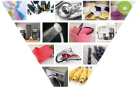 02 Various Plastic Products Made By Injection Machines