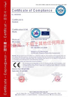 10 CE Certificate EN149 2001 A1 2009 of KN95 Civil Protective Mask