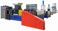 05 Third Stages PE PP Water Materials Crushing and Cleaning Exhaust Water Strip or Water Ring Cutting Extrusion Granulator 1