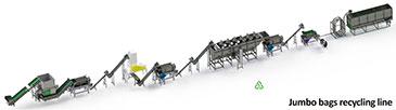 08 Jumbo Bags Recycling Line Workshop Layout