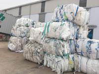12 Jumbo Bags Recycling Line Waste Jumbo Bags 01