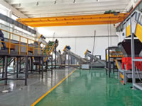 28 HDPE PP Recycling Line Workshop 02