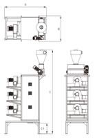 49 Zig Zag Air Separator Three View