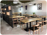 07 Plastics Welding Solutions Hotel Style Restaurant for Staffs with Warmth of Home