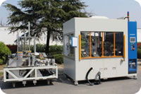 101 Clean Pipe Dirty Pipe Booster Pipe Assembly Welding Inspection Workstation Multi Head Welding Machine