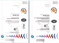 11 Plastics Welding Solutions Quality Management System ISO 9001 2015 Certificate