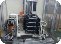 114 Intake Manifold Cylinder Cover Assembly Inspection Line Copper Nut Hot Plug 1