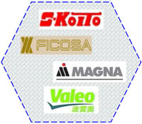 12 Plastics Welding Solutions Customers on Automotive Car Manufacturing Car Lights Koito FICOSA MAGNA Valeo