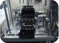 121 Intake Manifold Cylinder Cover Assembly Inspection Line Function Test