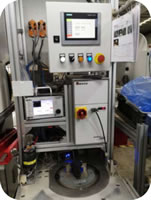 124 Electronic Handbrake Assembly EPB Assembly Welding Inspection Line Electrode Welding