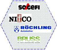 13 Plastics Welding Solutions Customers on Automotive Car Manufacturing Power Assembly SOGEFI NIFCO ROCHLING BRUSS