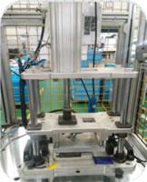 132 Oil Mist Separator Cylinder Cover Assembly Inspection Line PRV End Cover Assembly