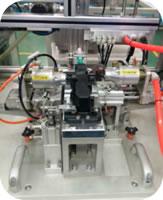136 Oil Mist Separator Cylinder Cover Assembly Inspection Line PCV Valve Function Test